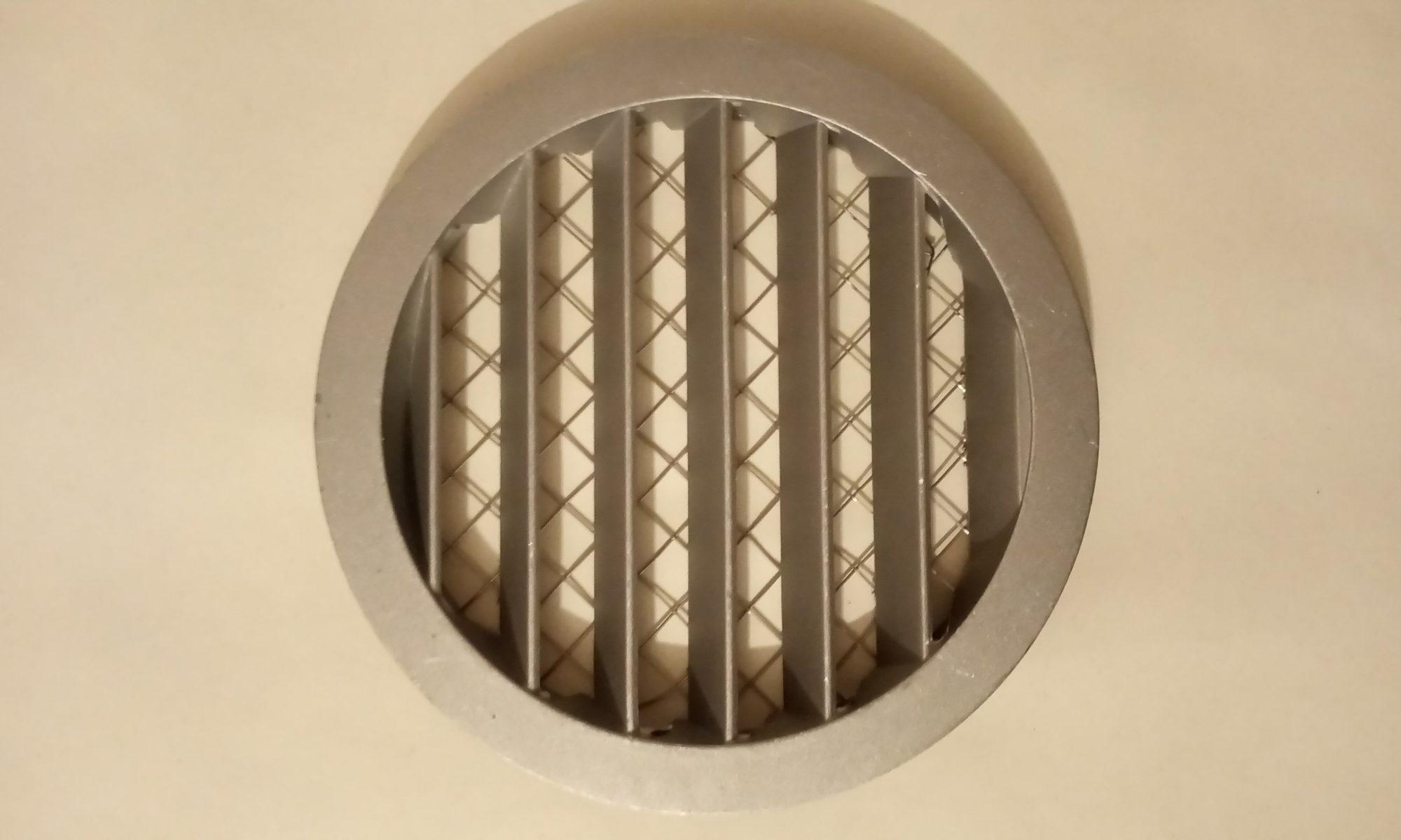 Решітка вентиляційна -Д 160